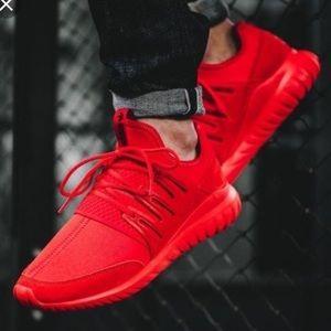 Men's Adidas Ortholite Red Sneakers Sz.